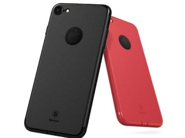 قاب محافظ ژله ای بیسوس Baseus Solid Color For Apple iPhone 7