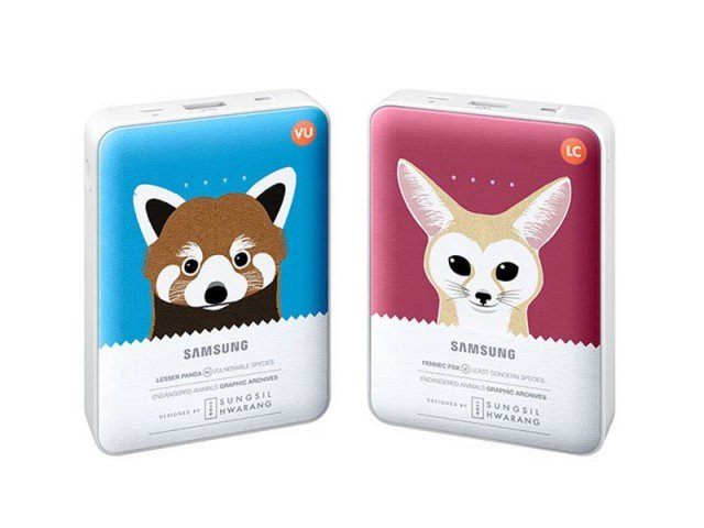 پاور بانک طرح دار سامسونگ Samsung Animal Edition External Battery Pack 8400mAh