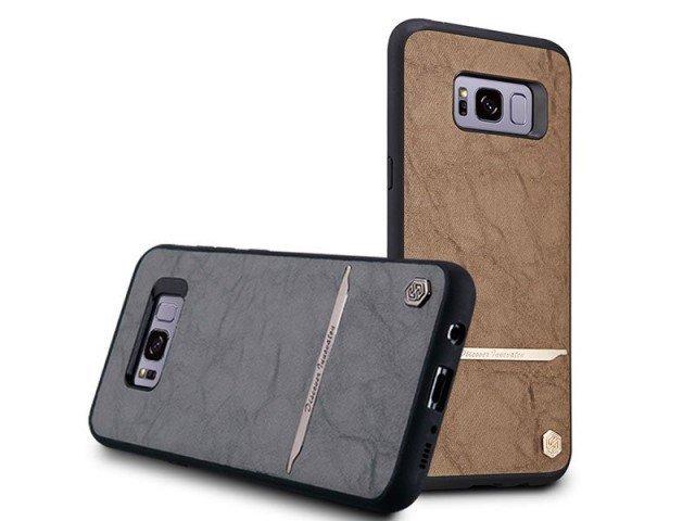 قاب محافظ چرمی نیلکین Nillkin Mercier Case For Samsung Galaxy S8