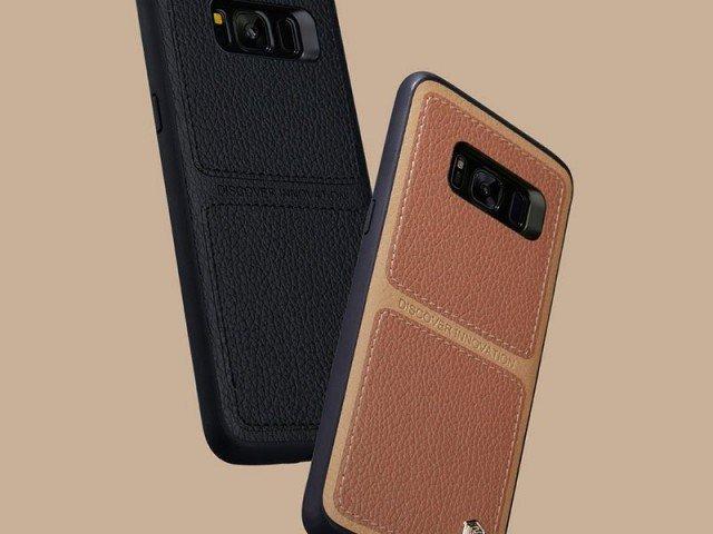 قاب محافظ چرمی نیلکین Nillkin Burt Case For Samsung Galaxy S8