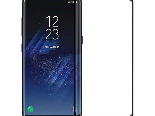محافظ صفحه نمایش گلس نیلکین Nillkin 3D CP+ MAX Full Coverage Glass Screen Protector For Samsung Galaxy S8