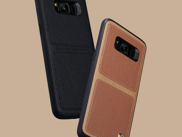 قاب محافظ چرمی نیلکین Nillkin Burt Case For Samsung Galaxy S8 Plus