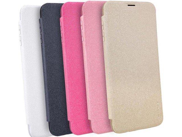 کیف محافظ چرمی نیلکین Nillkin Sparkle Leather Case For Samsung Galaxy S8 Plus