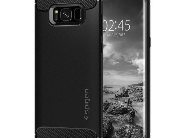گارد محافظ اسپیگن Spigen Rugged Armor Case For Samsung Galaxy S8