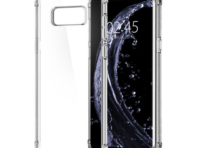 قاب محافظ اسپیگن Spigen Crystal Shell Case For Samsung Galaxy S8 Plus
