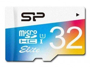 Silicon Power Color Elite microSDHC UHS-I U1 Class 10 32GB