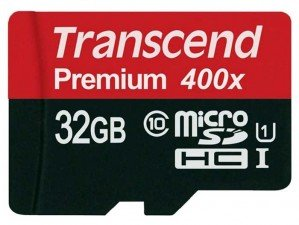 کارت حافظه Transcend Class 10 Premium 400X 32GB