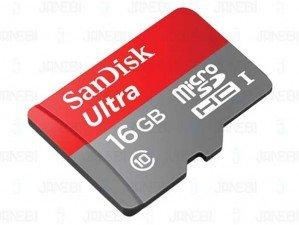 SanDisk Class 10 533X 16GB