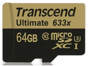 کارت حافظه Transcend Class 10 Ultimate 633X 64GB