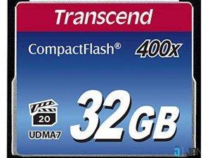 Transcend 32GB Premium 400x Compact Flash Card