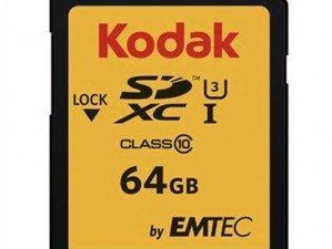 کارت حافظه Emtec Kodak UHS-I U3 Class 10 95MBps 650X microSDHC 64GB