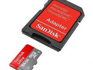 SanDisk Class 10 64GB MEMORY CARD