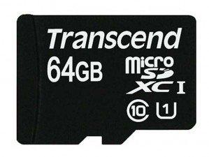 کارت حافظه Transcend Class 10 64GB