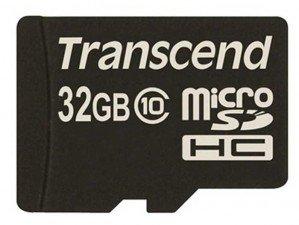 Transcend Class 10 32GB memory card