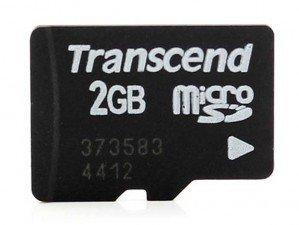 کارت حافظه Transcend Class 4 2GB