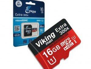 کارت حافظه Viking Man Class10 U1 300X 16GB