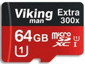 کارت حافظه Viking man Class 10 U1 300X 64GB