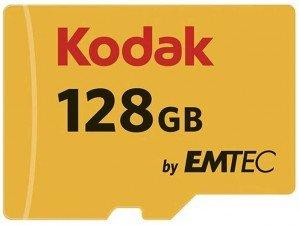 Emtec Kodak UHS-I U1 Class 10 85MBps 580X microSDHC 128GB