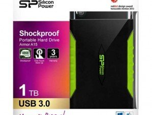 Silicon Power A15 1TB external hard disk