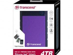 Transcend Storejet 25H3 2TB external hard disk