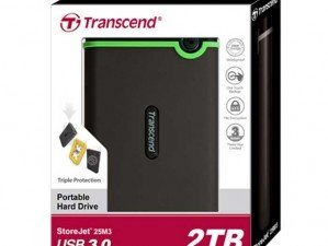 Transcend Storejet 25M3 1TB external hard disk