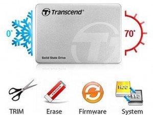 "Transcend 2.5"" 128GB SSD370s SATA Solid State Drive"
