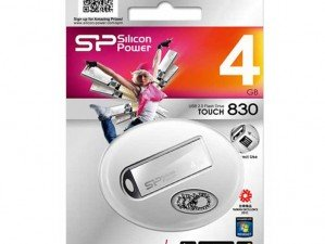 Silicon Power Touch 830 4GB flash memory
