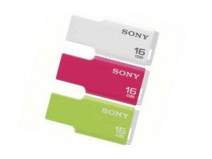 Sony MicroVault USM16GM/W 16GB FLASH MEMORY