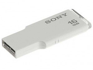 فلش مموری Sony MicroVault USM16GM/W 16GB