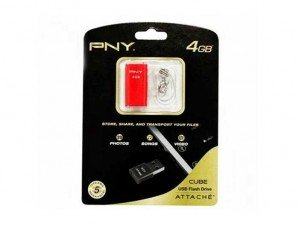 PNY Cube 4GB flash memory