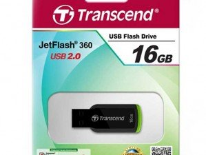 Transcend JetFlash 360 16GB FLASH MEMORY