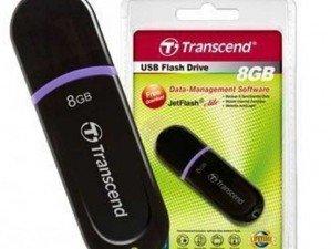Transcend JetFlash300 8GB flash memory