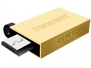 فلش مموری Transcend JetFlash OTG 380G 16GB
