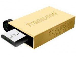 فلش مموری Transcend JetFlash OTG 380G 16GB