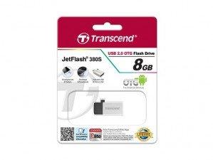 Transcend JetFlash OTG 380S 8GB FLASH MEMORY