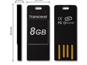 Transcend JetFlash T3 8GB flash memory