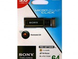 Sony Micro Vault USM64GU 64GB FLASH MEMORY