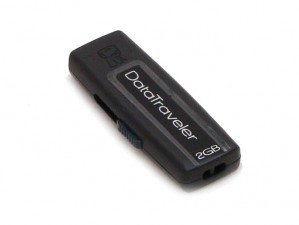 Kingston Data Traveler 100 2GB flash memory