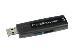 Kingston Data Traveler 100 4GB flash memory
