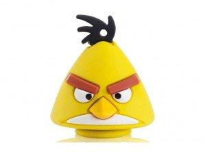 Emtec Angry Birds Yellow 8GB flash memory