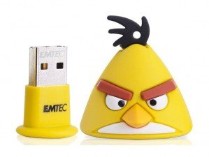 فلش مموری  Emtec Angry Birds Yellow 8GB