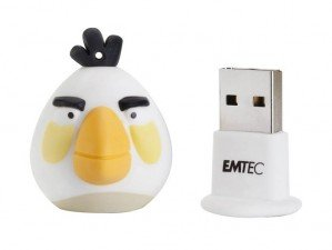 فلش مموری  Emtec Angry Birds White 8GB