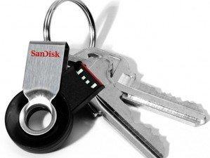 SanDisk Cruzer Orbit 32GB flash memory