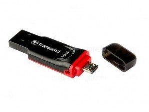 Transcend JetFlash 340 USB 2.0 OTG 32GB flash memory