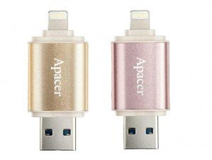 Apacer AH190 Lightning 16GB flash memory