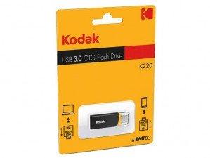 Emtec Kodak K220 OTG USB Flash Memory - 16GB