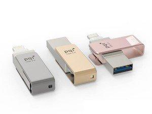 Pqi i-Connect mini Lightning USB Flash Memory - 64GB