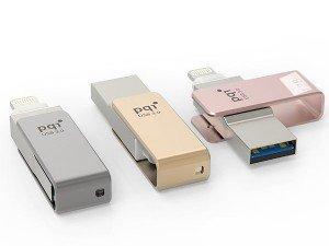 Pqi i-Connect mini Lightning USB Flash Memory - 32GB