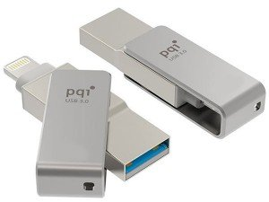 Pqi i-Connect mini Lightning USB Flash Memory - 32GB
