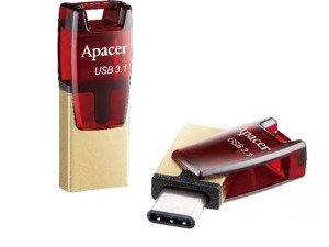 فلش مموری Apacer AH180 USB Type-C 64GB